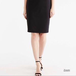 JONES NEW YORK Black Stretch Skirt NWT Size 16